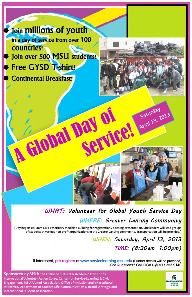 global youth services day 2013