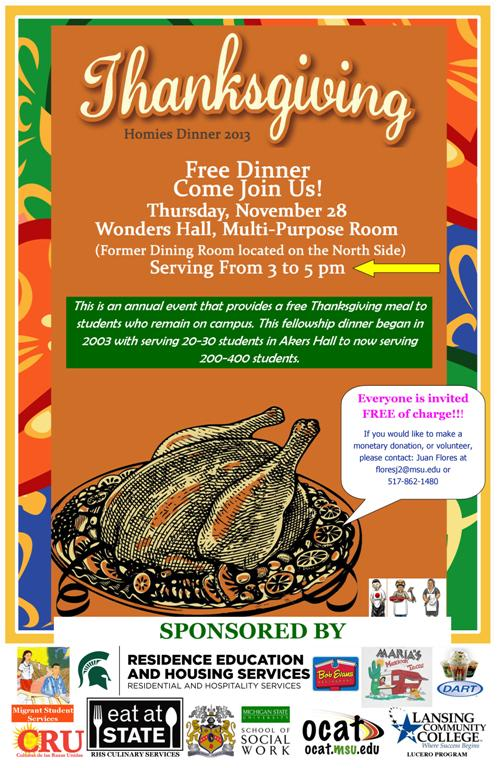 Thankgiving Flyer