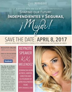 DDLM: Dia de la Mujer Conference @ Kellogg Hotel & Conference Center   East Lansing   Michigan   United States