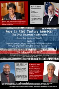 """Race in 21st Century America: The 10th National Conference """"Race, Gender, and Sexuality"""" @ Kellogg Hotel & Conference Center   East Lansing   Michigan   United States"""