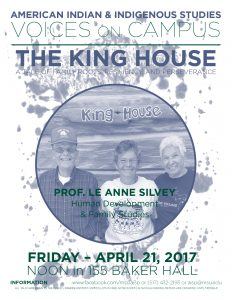 Voices on Campus: The King House @ 155 Baker Hall