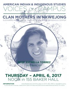 Voices on Campus: Clan Mothers In Nkwejong @ 155 Baker Hall   Pleasant Hills   Pennsylvania   United States