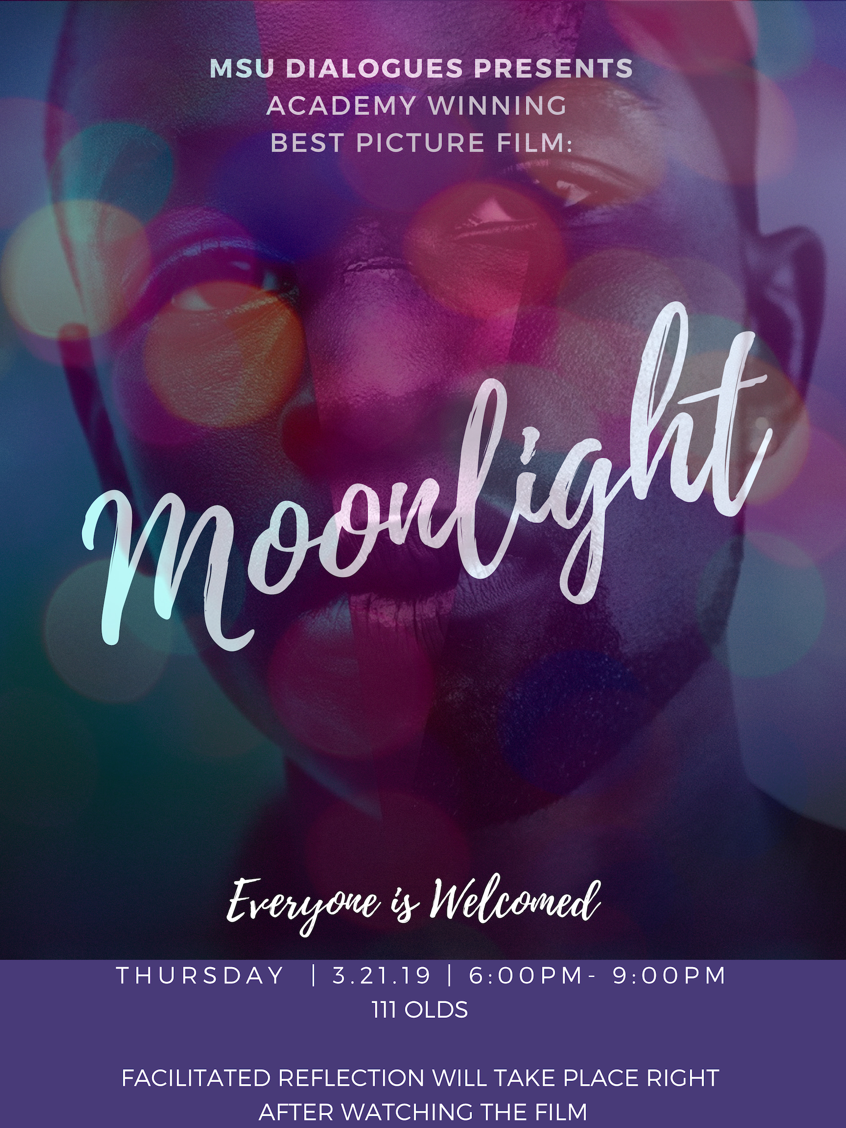 MSU DIALOGUES PRESENT: MOONLIGHT @ 111 Olds