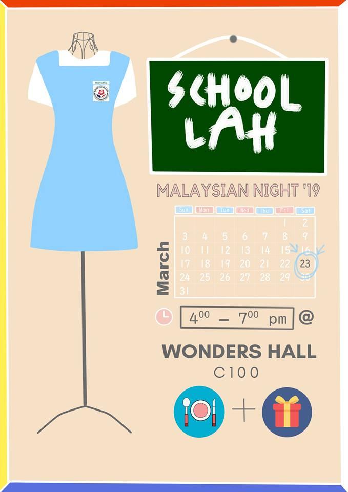 Malaysian Night 2019 @ Wonders Hall C100