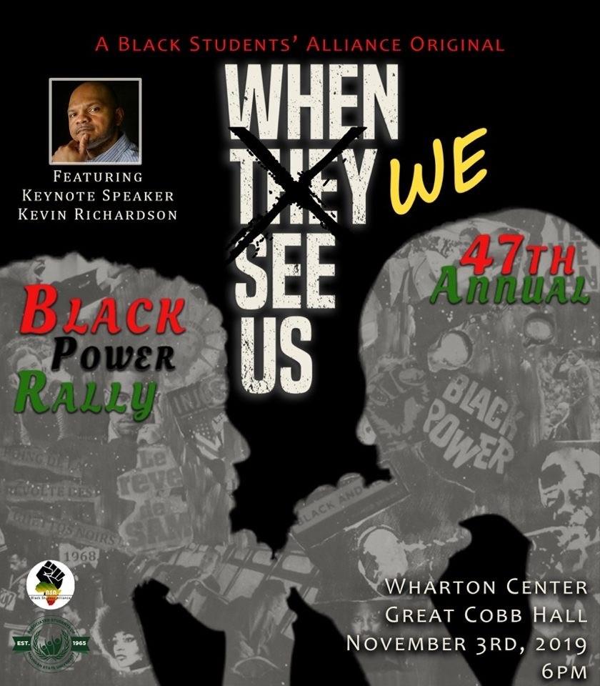 Black Power Rally