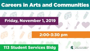 Careers in Arts and Communities