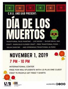 Dia de los Muertos @ International Center