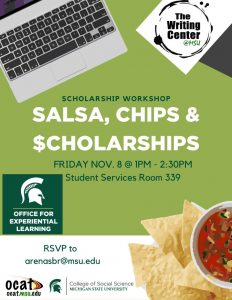 Salsa, Chips & Scholarships