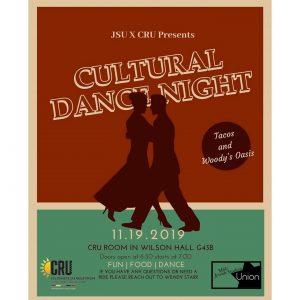 Cultural Dance Night @ CRU Room G43B