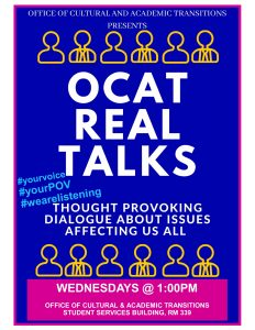 OCAT REAL TALKS @ OCAT
