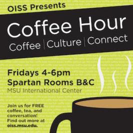 Employment Visa Coffee Hour @ International Center Spartan Rooms B & C (Inside food court)