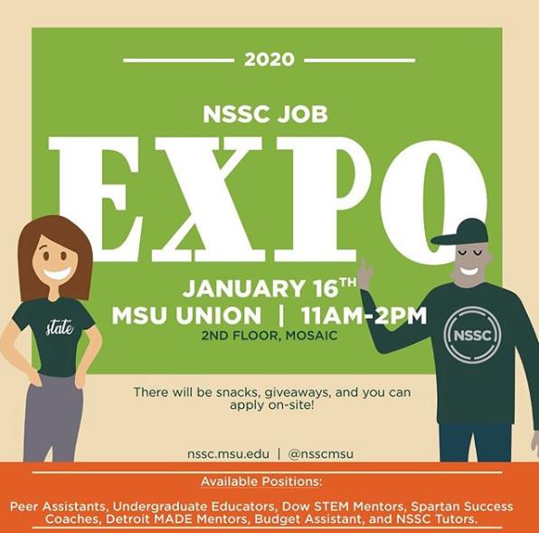 NSSC Job Expo @ MSU Union