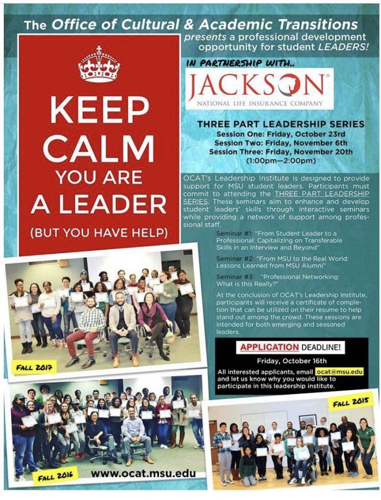 Jackson Professional Development & Leadership Session #1 @ ZOOM