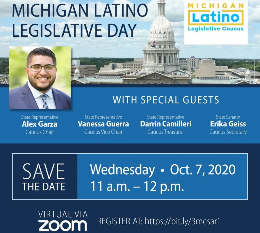 2020 Michigan Legislative Latino Day @ ZOOM
