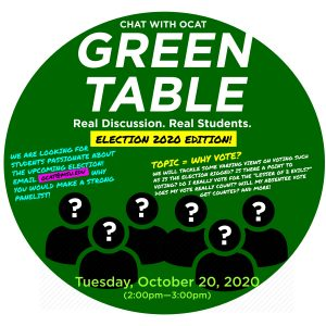 Call for student panelists Deadline- Green Table