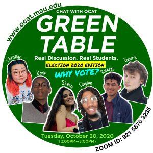 OCAT's Green Table