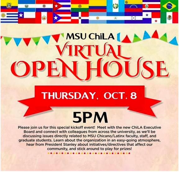 MSU ChiLA Open House @ ZOOM