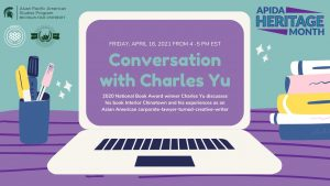 Conversation with Charles Yu